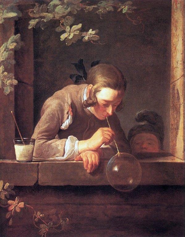 Soap Bubbles Jean Baptiste Simeon Chardin